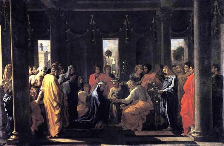 Marriage, 1637 - 1638 - Nicolas Poussin