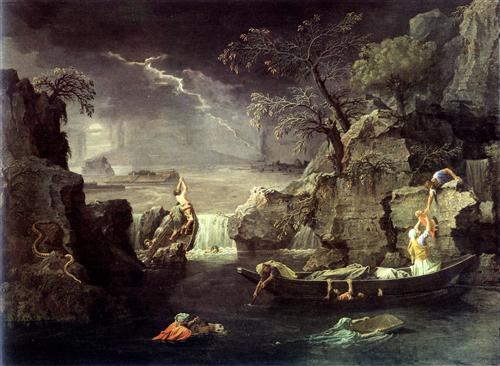 Winter (The Flood)   - Nicolas Poussin