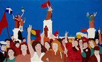 Delacroix no 25 de Abril em Atenas - Нікіас Скапінакіс