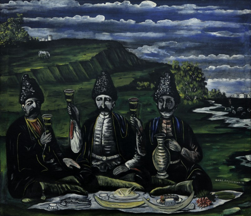 The feast of three Nobles in the valley, 1909