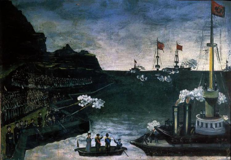 Russo-Japanese War, 1906 - Niko Pirosmani
