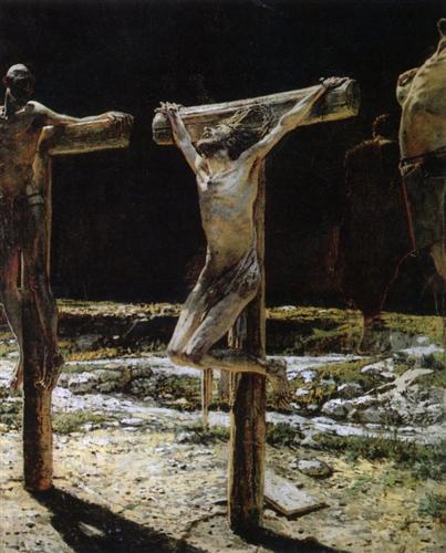 Crucifixion - Nikolai Ge