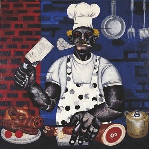 Fast Food, 1999 - Nyoman Masriadi