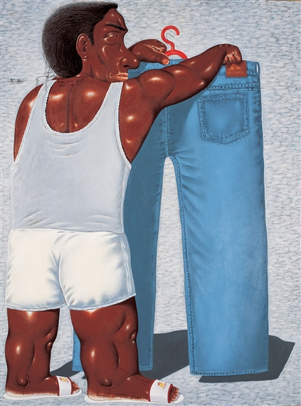 Too Small, 2003 - Nyoman Masriadi