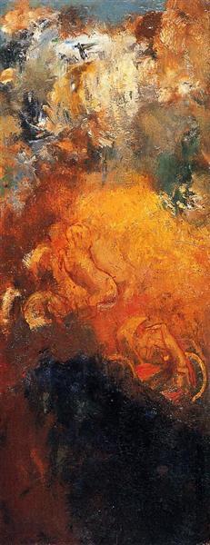Колісниця Аполона, c.1905 - Оділон Редон