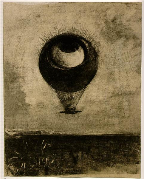 Eye Balloon, 1898 - Odilon Redon