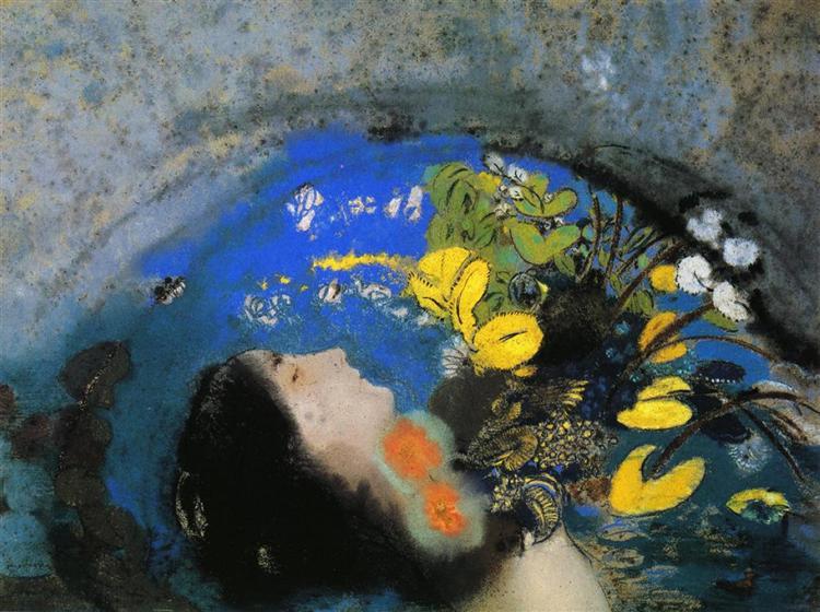 Ophelia, c.1903 - Odilon Redon