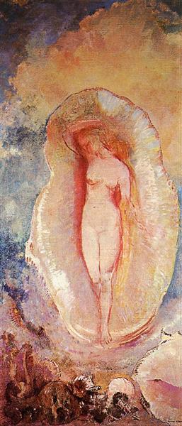The Birth of Venus, 1912 - 奥迪隆·雷东