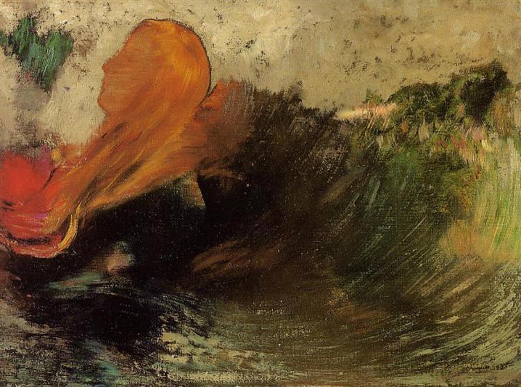 The Death of Ophelia, 1905 - Odilon Redon