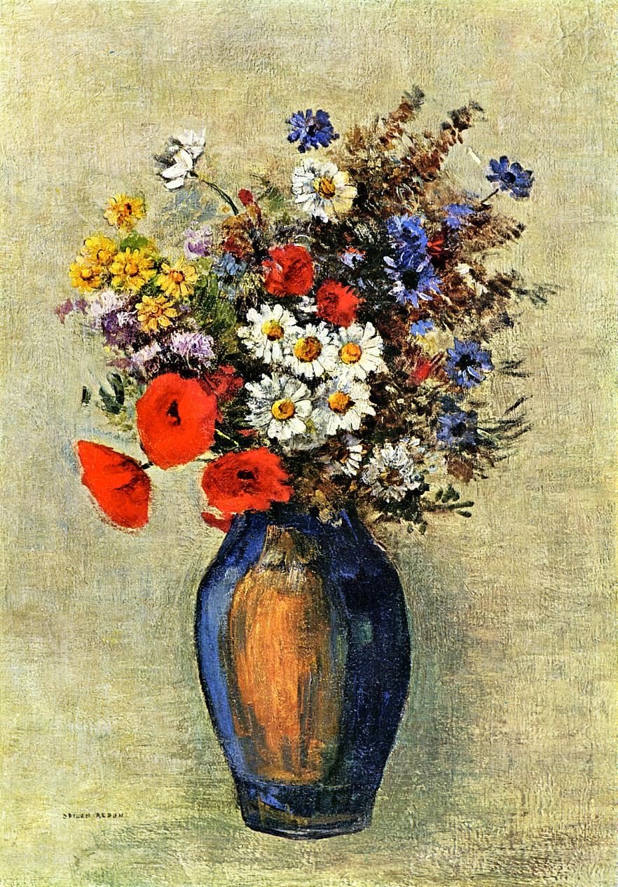 Vase of flowers c1904 odilon redon wikiart vase of flowers c1904 odilon redon reviewsmspy