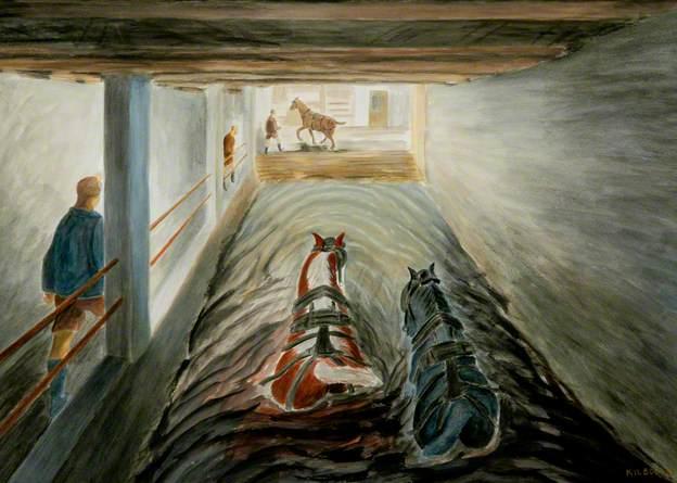 Lowse, End of Shift, 1975 - Oliver Kilbourn