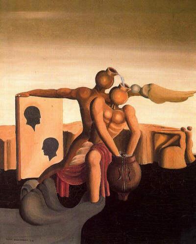 Désir d'été, 1934 - Oscar Dominguez