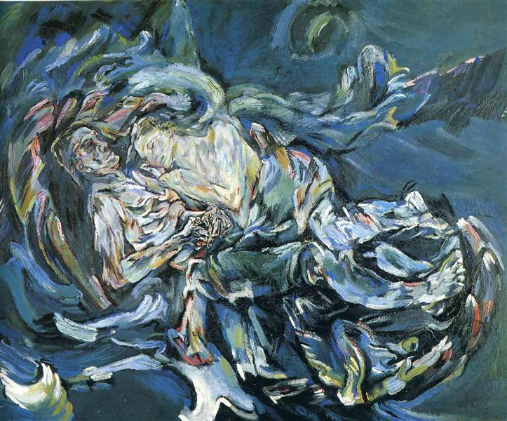 Bride of the Wind - Oskar Kokoschka