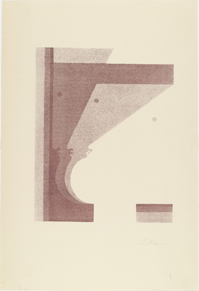 Three Profiles, the One in the Middle Vertical (Drei Profile, das mittlere senkrecht), 1920 - Oskar Schlemmer