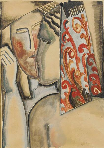 Couple, 1921 - Ossip Zadkine