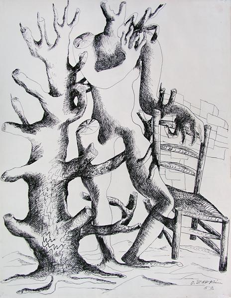 Daphne, 1953 - Ossip Zadkine