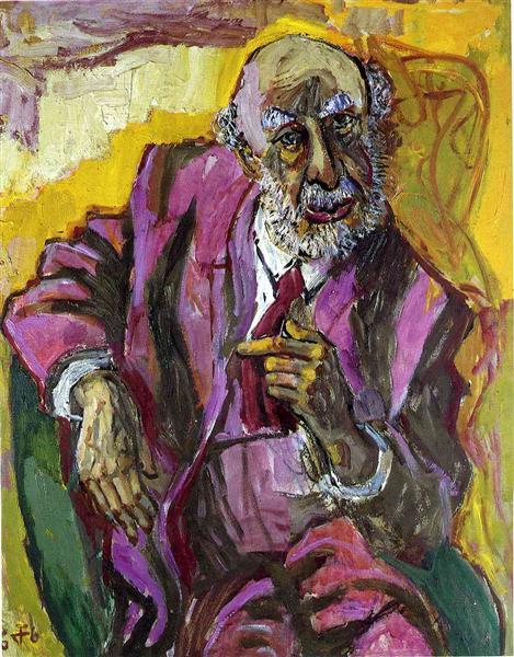 Fritz Perls, 1966 - Otto Dix
