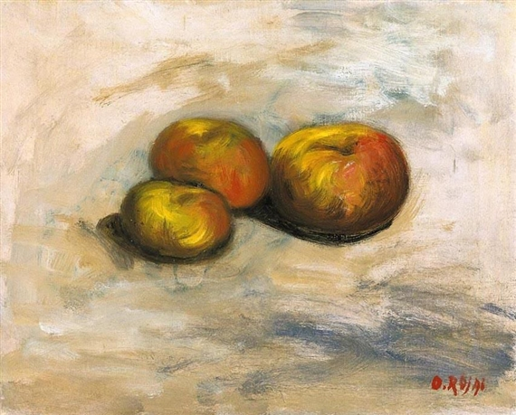 Still Life, Apples