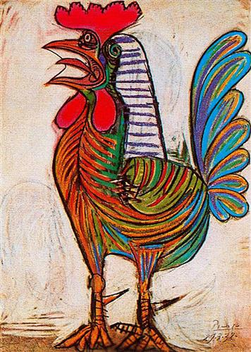 A rooster - Pablo Picasso