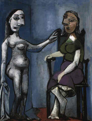 Contemplating people, 1939 - Pablo Picasso
