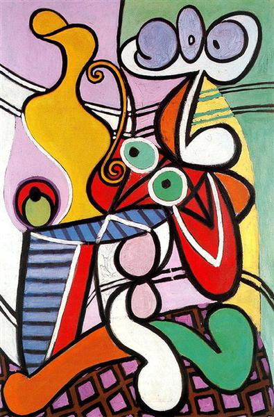 Great Still life on pedestal, 1931 - Pablo Picasso