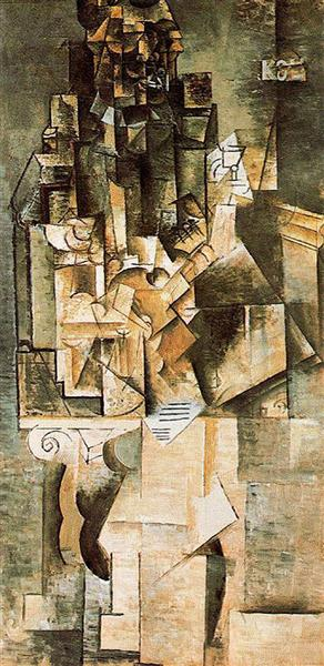 Man with a guitar, 1911 - Pablo Picasso