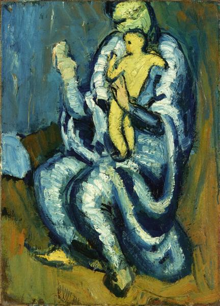 Motherhood - Picasso Pablo