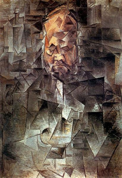 Portrait of Ambroise Vollard - Pablo Picasso