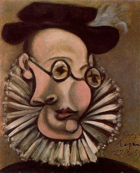 Portrait of Jaime Sabartes as Grandee, 1939 - Pablo Picasso