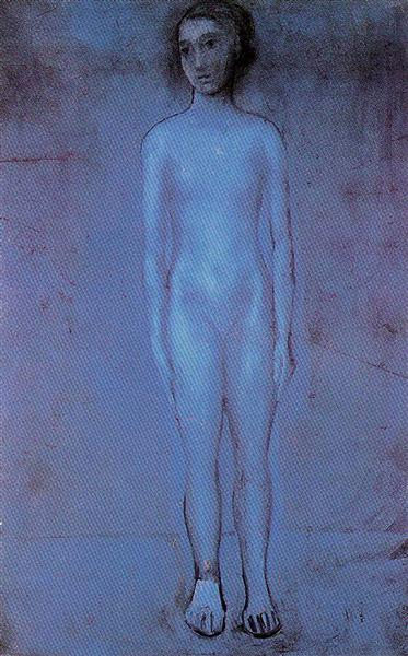 Standing young nude, 1904 - Pablo Picasso