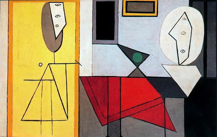 Studio, c.1927 - Pablo Picasso