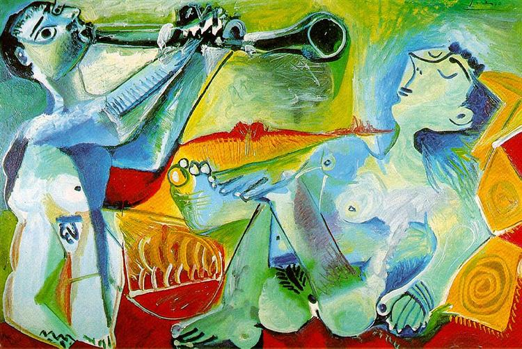 The Aubade, 1965 - Pablo Picasso - WikiArt.org