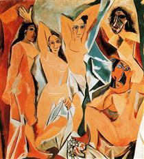 Le ragazze di Avignone - Pablo Picasso
