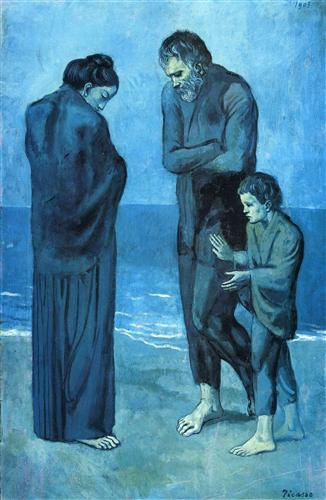 The Tragedy - Pablo Picasso