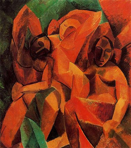 Three women - Pablo Picasso