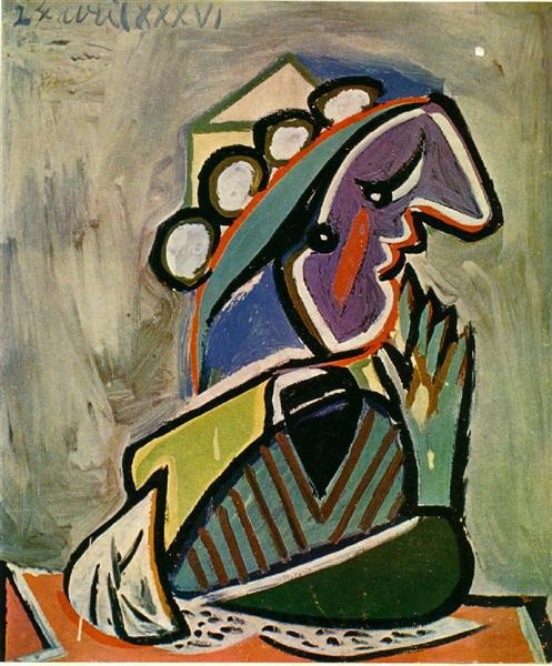 Untitled 1936 pablo picasso for Picasso painting names