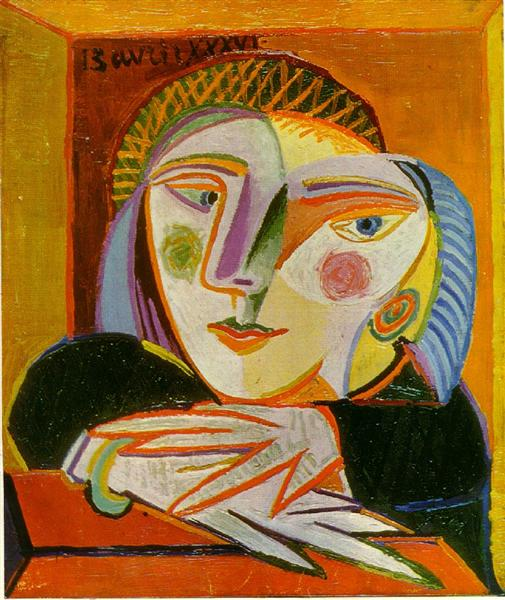 Woman by the window - Picasso Pablo