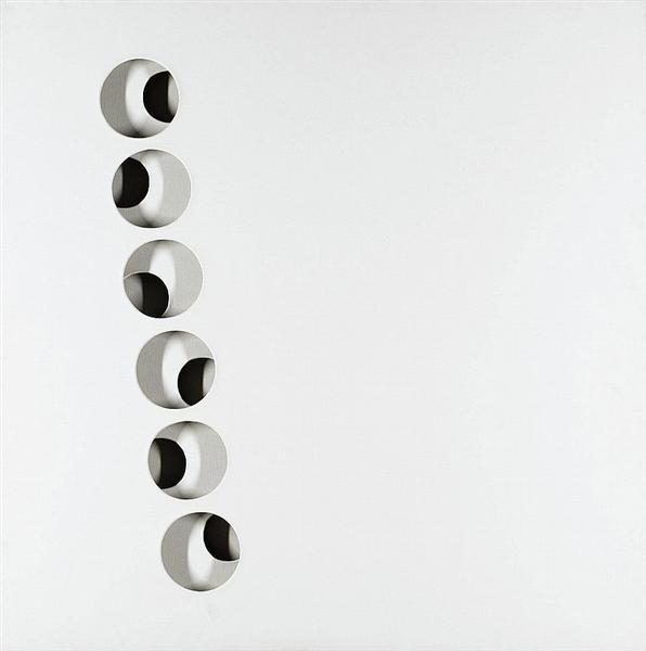 Intersuperficie curva bianca, 1969 - Paolo Scheggi