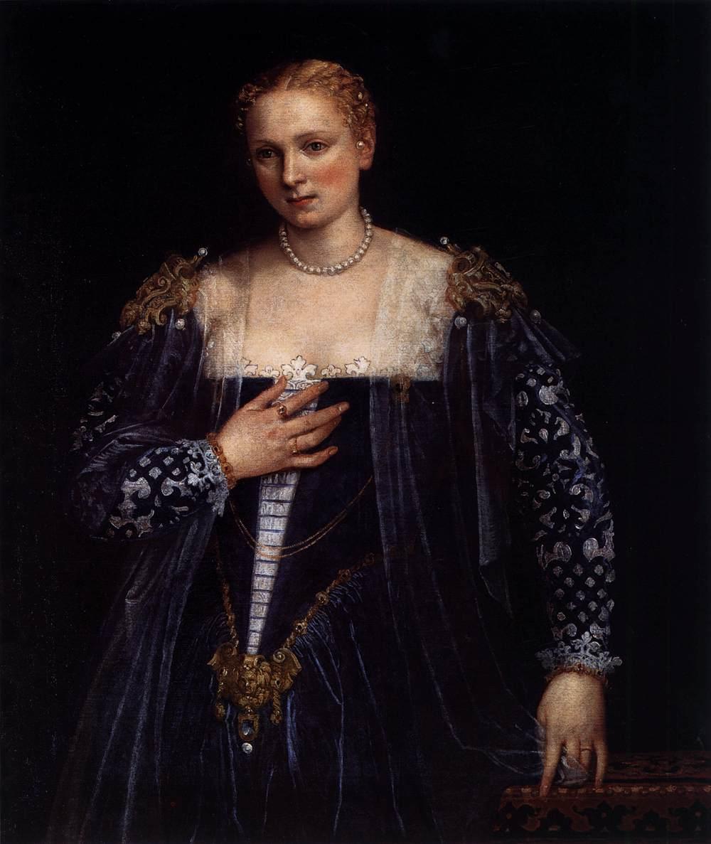 Portrait of a venetian woman la belle nani