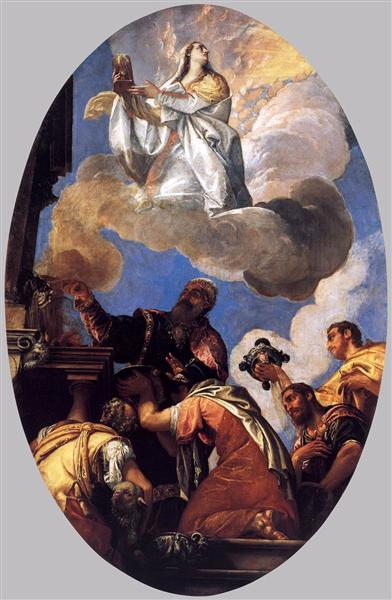 Religio and Fides (Religion and Faith), 1575 - 1577 - Paolo Veronese