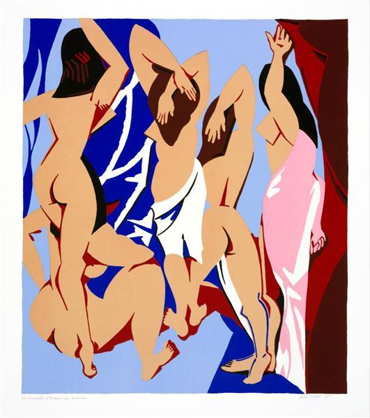 Les Demoiselles d'Avignon vues de derrière, 1999 - Patrick Caulfield