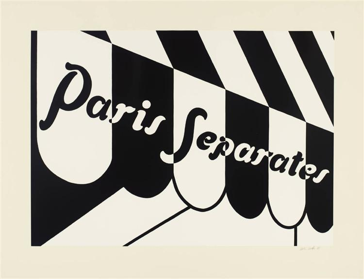 Paris Separates, 1973 - Patrick Caulfield