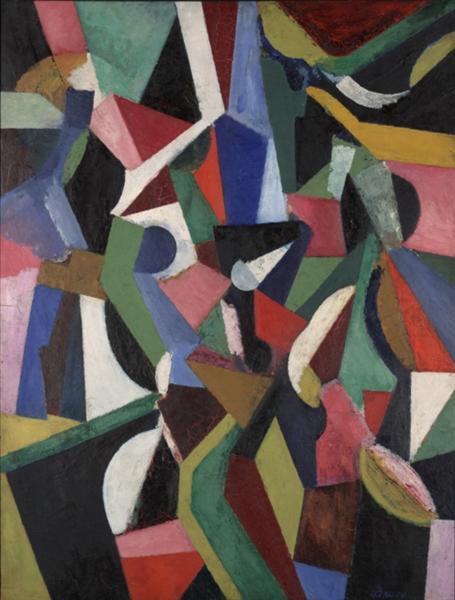 Composition I, 1916 - Patrick Henry Bruce