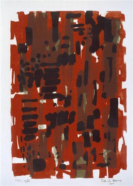 Red Garden, 1956 - Patrick Heron