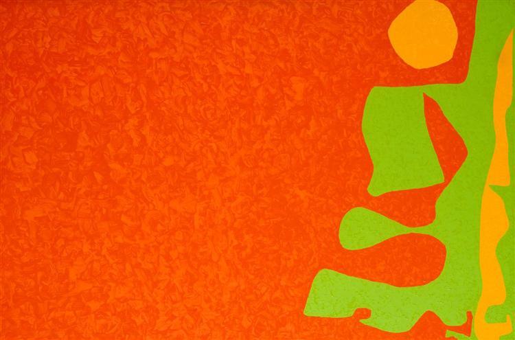 Scarlet, Emerald, and Orange: July-September 1976, 1976 - Patrick Heron