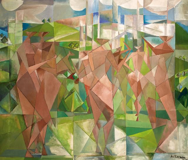 Personnages Cubistes, 1949-1950