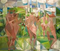 Personnages Cubistes - Paul Ackerman