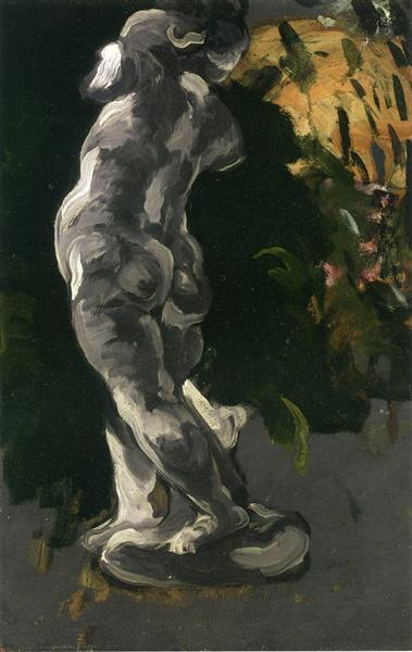 Amour in Plaster, c.1867 - Paul Cézanne