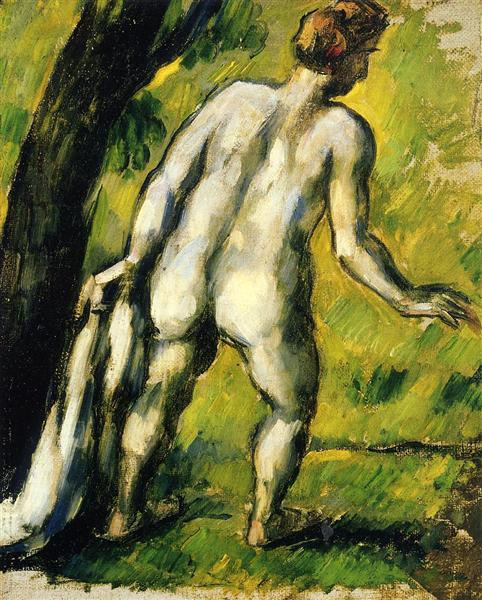 Bather from the Back, 1878 - Paul Cezanne