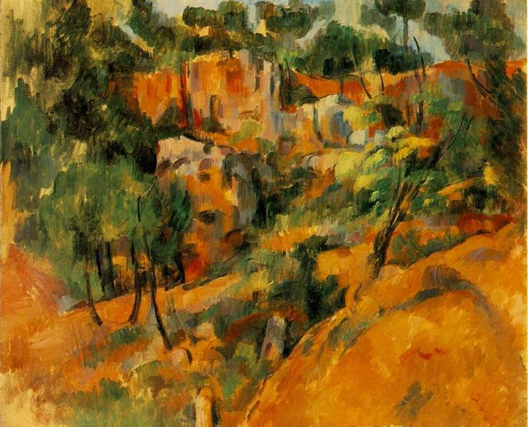 Corner of Quarry, c.1902 - Paul Cezanne